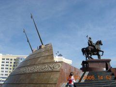 пл. Маханбет by <b>??/Xiao Han</b> ( a Panoramio image )