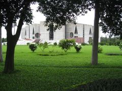 sangsad bhaban(national assembly building),dhaka by <b>F.Zaman</b> ( a Panoramio image )