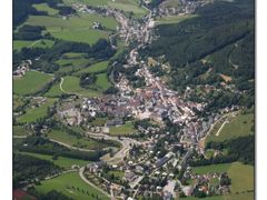 Mariazell & LOGM - (Aereal Overview) by <b>AustrianAviationArt</b> ( a Panoramio image )