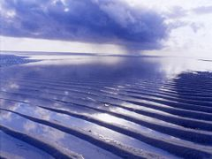 Low tide, sand ripples by <b>@mabut</b> ( a Panoramio image )
