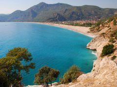 Olu Deniz (The Blue Lagune) by <b>FlinstoneRO</b> ( a Panoramio image )
