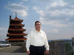 Pagoda- The Historic Monument Of Japan On Mount Penn In Reading, by <b>MrNAASSIR</b> ( a Panoramio image )
