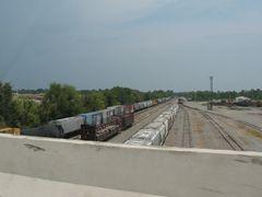 Train yard at Little Rock by <b>sacoo</b> ( a Panoramio image )