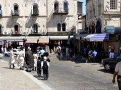 Noon of Shabbat, near Jaffa Gate, Jerusalem by <b>Ilya Borovok</b> ( a Panoramio image )