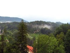 Panorama from Trakoscan castle by <b>rguila</b> ( a Panoramio image )