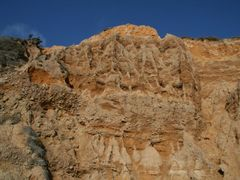 Pfeiffer State Beach - Sand Stone Cliff , Big Sur, California by <b>davidcmc58</b> ( a Panoramio image )