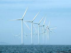 Offshore Windturbines near Copenhagen by <b>H. C. Steensen</b> ( a Panoramio image )