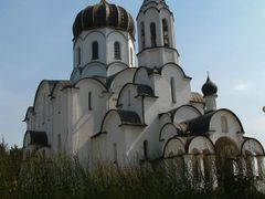 Church of the  Birth of Christ in Vialikaje Sciklieva village by <b>Andrej Kuzniecyk</b> ( a Panoramio image )