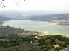 Lago di Corbara by <b>circech</b> ( a Panoramio image )