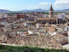VILLENA (Alicante). Vista panoramica desde el Castillo. by <b>Carlos Sieiro del Nido</b> ( a Panoramio image )