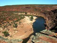 Kalbarri N P : Murchison River Loop Trail 1 by <b>Peter Connolly</b> ( a Panoramio image )