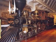"""The President"" steam locomotive, Henry Ford Museum, Dearborn by <b>John Goodall</b> ( a Panoramio image )"