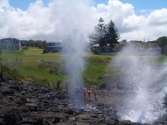 Kiama (Little Blowhole) by <b>Torben R.</b> ( a Panoramio image )