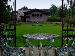 Garden Gazebo Table by <b>Rein Nomm</b> ( a Panoramio image )