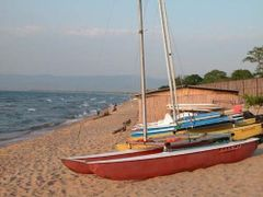Kande Beach Campground Lake Malawi - please suggest updated loca by <b>snorth</b> ( a Panoramio image )