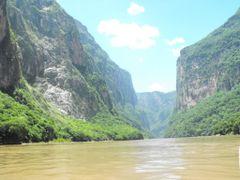 Sumidero Canyon - El Escudo - Mexico by <b>diego_cue</b> ( a Panoramio image )