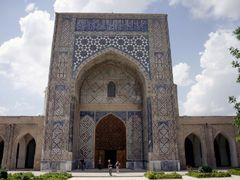 Shakrisabz  - Kok Doumbat mosque by <b>Cottius</b> ( a Panoramio image )