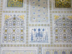 Shakrisabz - Vision of Paradise inside Kok Doumbat mosque by <b>Cottius</b> ( a Panoramio image )