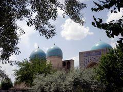 Shakhrisabz - Kok Doumbat mosque by <b>Cottius</b> ( a Panoramio image )