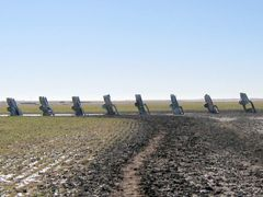 Cadillac Ranch - Amarillo, TX 1-2007 by <b>TGrier</b> ( a Panoramio image )