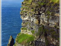 "Cliffs of Moher and O""Briens Tower, County Clare by <b>Madidi</b> ( a Panoramio image )"