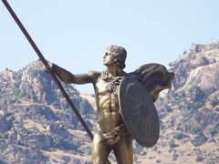 Alexander the Great - Prilep by <b>tgoce</b> ( a Panoramio image )