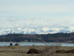 Lake Tekapo and  mountains by <b>Zita Smith</b> ( a Panoramio image )