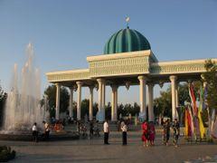 Andizhan, city park by <b>igor_alay</b> ( a Panoramio image )