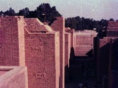 Ruins of Hanging Garden,Babylon,Iraq 6/1983 by <b>F.Zaman</b> ( a Panoramio image )