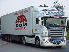 TruckSpotting HOTSPOT (SCANIA R620) by <b>Badea Mihai</b> ( a Panoramio image )
