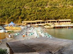 Trsteno beach by <b>BojanOrovic</b> ( a Panoramio image )