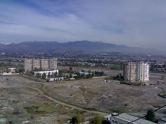 View of the eastern part of the Dushanbe from the roof of the Di by <b>Parviz.Tj</b> ( a Panoramio image )