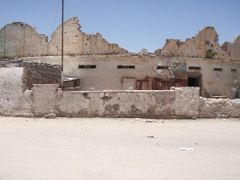 Remains of Hargeysa museum bombed out in 1988 civil war by <b>rashid mustafa</b> ( a Panoramio image )