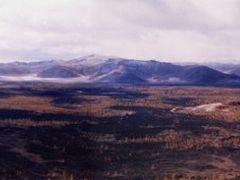panoramique du haut d`un volcan proche de White Lac - Mongolia by <b>esPasseParla</b> ( a Panoramio image )