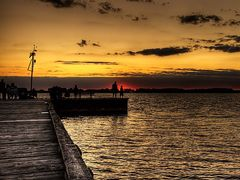 Rondeau Pier by <b>John Gillett</b> ( a Panoramio image )