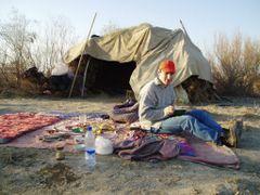 Плов из ягненка у рыбаков by <b>MACTAK</b> ( a Panoramio image )