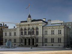 Tampere city hall by <b>Heikki Santasalo</b> ( a Panoramio image )