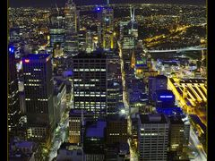 Night Melbourne from Observation Desk by <b>Kirill Saveliev</b> ( a Panoramio image )