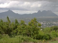 Le Pouce (812m) and P. Both Mt. (823m) from Curepipe area by <b>Jan Madaras - outland</b> ( a Panoramio image )