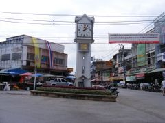 The Old Clock Tower of Chiang Rai at the New place  by <b>pr8ngkiet</b> ( a Panoramio image )