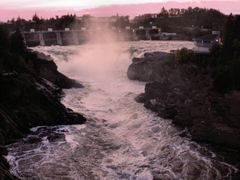 Grand Falls Summer 2008 by <b>chantale_caron</b> ( a Panoramio image )