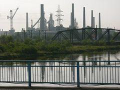 Ch`ngjin: Kimchaek Steel Works by <b>Eckart Dege</b> ( a Panoramio image )