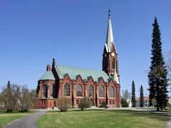 The Cathedral of Mikkeli  by <b>paparazzistas</b> ( a Panoramio image )