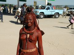Himba women at gasoline stand by <b>edgar181944</b> ( a Panoramio image )