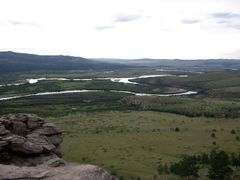 przed Suche Bator, rzeka Selenga by <b>SangJoon.Kim</b> ( a Panoramio image )