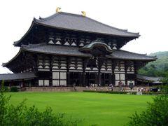Daibatsu-den Hall, Todaiji Temple, Nara, Kansai, Japan by <b>Richard Ryer</b> ( a Panoramio image )