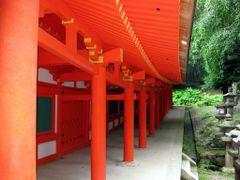 Outside, Kasuga Taisha Shrine, Nara, Kansai, Japan by <b>Richard Ryer</b> ( a Panoramio image )