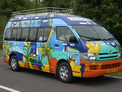 funny minibus in Grand Bassin by <b>Jan Madaras - outland</b> ( a Panoramio image )