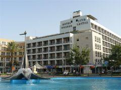 Independence square, Netanya by <b>Moshe Shaharur</b> ( a Panoramio image )