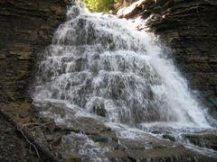 Quality Creek Falls by <b>dwhyte</b> ( a Panoramio image )